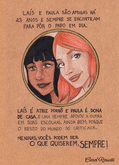 Laís e Paula by Carol Rossetti