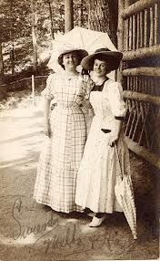 1913-1939 umbrellas aka parasols were widly used for protecting from the sun
