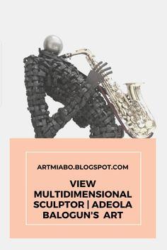 VIEW MULTIDIMENSIONAL SCULPTOR | ADEOLA BALOGUN'S TYRE ART Tire Art, Art Blog