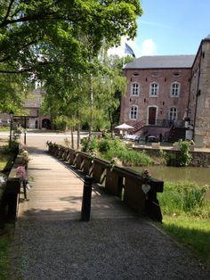 Kasteel Erenstein, Kerkrade, Zuid-Limburg.