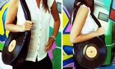 upcycle those vinyl records