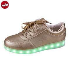 [Present:kleines Handtuch]Silber EU 40, Luminous Wiederaufladbare Flashing Sportschuhe weise leuchten Studententanzstiefel Kids LED Gl