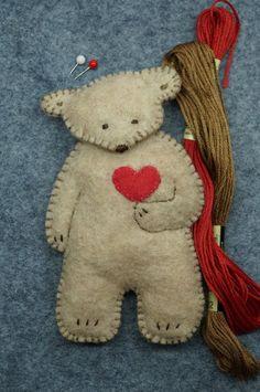 Bears Bears Bears pdf instant download pattern by RustyRoseFolkArt