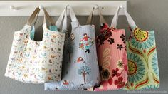 (7) Name: 'Quilting : Busy Bags (using Tessa Basket Pattern)