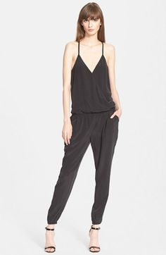 Joie+'Seit'+Silk+Jumpsuit+available+at+#Nordstrom