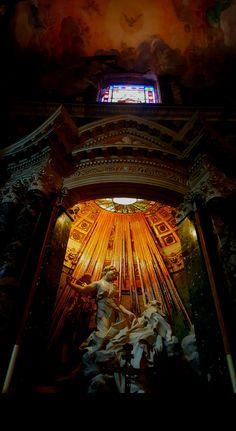 The extasy of S.Teresa in Rome