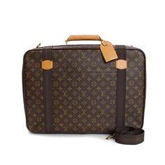 Louis Vuitton Satellite 53 Monogram Handle bags Brown Canvas M23356