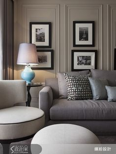 Are you looking to brighten up a dull room and searching for interior design tips? One great way to help you liven up a room is by painting and giving it a whole new look. Luxury Homes Interior, Luxury Home Decor, Interior Exterior, Diy Home Decor, Living Room Interior, Home Living Room, Living Room Decor, Classic Interior, Contemporary Interior Design