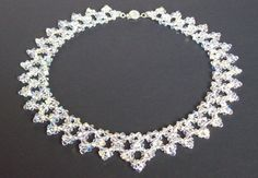 Tutorial Beaded Modified Right Angle Weave Drop por IntricatesByDeb