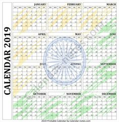 It can be used as a Reminder, Weekly Planner & Schedule. Calendar Notes, Yearly Calendar, 2019 Calendar, Empire Movie, Weekly Schedule Planner, Templates, Indian, Free, Stencils