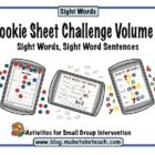 How much fun can you have with magnetic letters and a cookie sheet? Your students will love learning sight words with this popular cookie sheet act...