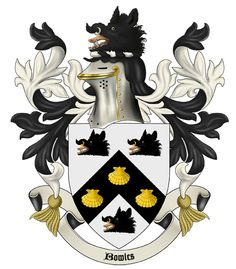 Our family Coat of Arms by herold Zdenek Velebny, who is the author of more than 150 signs.