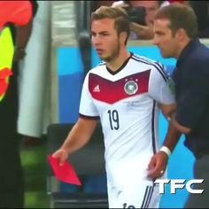 The legendary World Cup winning goal from Götze 😍.. - Tag friends  @thefootballcollection