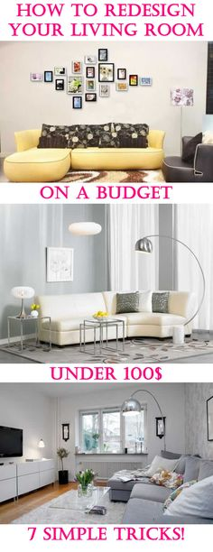 You Donu0027t Need A Lot Of Money To Redesign Your Living Room! With