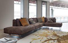 Divani design 2013 - Dalton pelle di Ditre Italia - Prodotti - Design