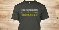 Programmers are version two human. Nerdy Tee Shirt for Programmers. awesome colors also available.  #Programming #Programmer #Programmers #Java #Nerdy #Funny #Coding #Code #Coder #Coders #NerdyProgrammer #Geek