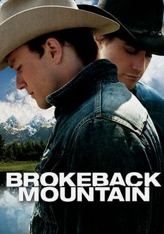 Brokeback Mountain - don't stick this in a box and label it and dismiss it. I cried hard, the acting is so damn good, the shots are beautiful, the love story is HEARTBREAKING. Watch it.