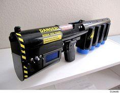 emp pulse rifle | The Coilgun Makes the Rubber-Band Gun Look Like a Kid's Toy - Asylum ...