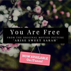 You Are Free (feat. Corey Brooks of Spoken For & Candice Sesco of the Sescos) - Single by Arise Sweet Sarah Pro Life, Try It Free, Apple Music, Itunes, Album, Songs, Film, Sweet, Movie