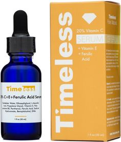 20% Vitamin C + E Ferulic Acid Serum 1 oz - Timeless Skin Care ($24.95!!! 3 month oxidation guarantee!!!)