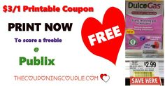 Free DulcoGas @ Publix Unadvertised Sale Now. Be sure to go Print this coupon Now while they are still there so you don't miss this freebie!  Click the link below to get all of the details ► http://www.thecouponingcouple.com/free-dulcogas-publix-now/ #Coupons #Couponing #CouponCommunity  Visit us at http://www.thecouponingcouple.com for more great posts!