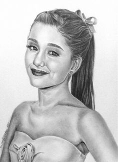 Pics For > Drawing Of Ariana Grande