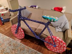 """""""Bought my brother tree trimmers for Christmas, built a cardboard frame around them and wrapped them like this."""" : pics"""