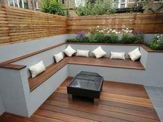 Cozy Backyard Patio Design and Decor Ideas . cozy backyard patio design and decor ideas Source. Cozy Backyard, Backyard Seating, Backyard Patio Designs, Garden Seating, Outdoor Seating, Backyard Landscaping, Outdoor Decor, Patio Ideas, Landscaping Ideas