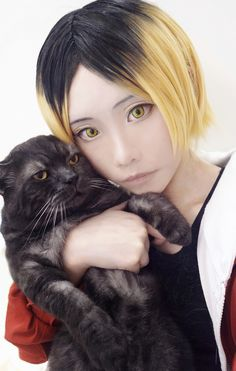 ミャウ! ((# - Chikami(芷紙) Kenma Kozume Cosplay Photo - WorldCosplay