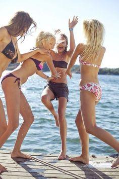 Summer time...young, wild and free