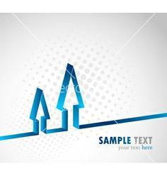 Background with arrow vector 752302 - by Denchik on VectorStock®