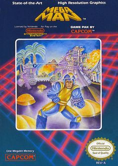 Les pires illustrations de boîtes de l'histoire du jeu vidéo : Mega Man pour la NES US...