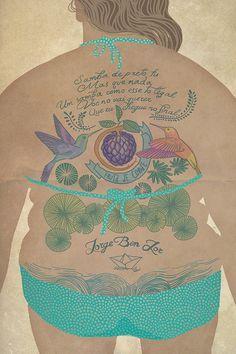 Illustration by Mila Lozanova, via Behance