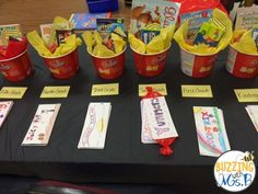 Movie Themed Family Literacy Night: Fun contest - create the best concession stand candy bar wrapper and win a movie themed prize! Leveled Literacy Intervention, Literacy Day, Parent Night, Family Fun Night, Read A Thon, Curriculum Night, Math Night, Family Engagement, Parent Teacher Conferences