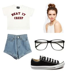 """""""Hipster style"""" by liza-ionova ❤ liked on Polyvore featuring Valfré, WithChic and Converse"""