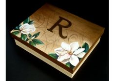 Keepsake / Card / Photo Box-Wooden Hand Painted-Unique Wedding, Birthday, Engagement, Anniversary Gift- Custom Designed-ALL Colors & Styles!... Painted Boxes, Wooden Boxes, Hand Painted, Newlywed Gifts, Swirl Design, Wooden Hand, Bridal Shower Gifts, Unique Weddings, All The Colors