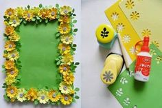 This page has a lot of free mothers day crafts ideas for kıds,preschool,kındergarten. Flower Crafts, Diy Flowers, Paper Flowers, Paint Swatch Art, Art For Kids, Crafts For Kids, Recycled Paper Crafts, Paper Punch Art, Paper Crafts Magazine