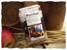"Likörmischung Rumtopf -  liqueur mix ""rum"" with berries"