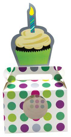 Caja Mediana Cupcake GUMA