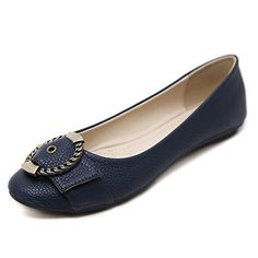 946f7ab3123968 SIKETU Plus Size Women Flats Casual Faux Texture Embossing Leather Oxford  Mocassins Loafers Comfort Flat Heel Metal Buckle Shoes. Fashion Corner ·  WOMEN S ...