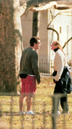 Like every couple, John and Carolyn had a spat or two, and one was unfortunately photographed by the paparazzi in February of '96. They were walking Friday in the park and I'm not sure…