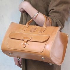french plumber bag american made vegetable tanned american leather heavy weight bag original spring finn and co bag talin spring minneapolis leather bag handbags leather Cheap Handbags Online, Popular Handbags, Cute Handbags, Purses And Handbags, Pink Handbags, Prada Handbags, Luxury Handbags, Fashion Handbags, Fashion Bags