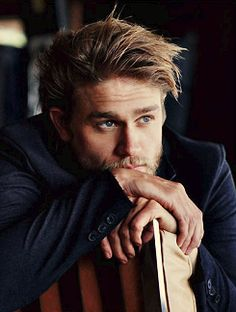 Charlie Hunnam a.k.a. Jax on Sons of Anarchy