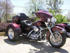 Harley Trike..Nice color!!  Next on my wish list.