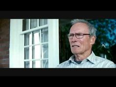 'What a Load of Shit', Gran Torino, Clint Eastwood, 2008 Gran Torino Film, Clint Eastwood, Wayfarer, Ray Bans, Mens Sunglasses, Youtube, Movies, Style, Swag
