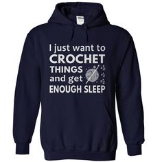 Crochet and Sleep T-Shirts, Hoodies. ADD TO CART ==► https://www.sunfrog.com/LifeStyle/Crochet-and-Sleep-NavyBlue-Hoodie.html?id=41382