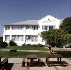 Our campus, the old Grand Hotel, in Port Alfred.
