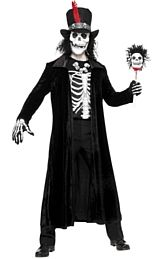 Voodoo Man Halloween Costume http://www.partypacks.co.uk/voodoo-man-pid80954.html