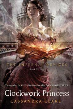 The Infernal Devices: Clockwork Princess official book cover!!  AHHHHHHHH!!!!