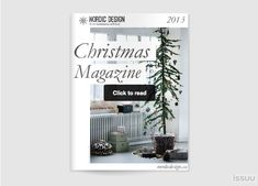 Nordic Design's 2013 Christmas Magazine is here, and it has ideas for adding a Scandinavian touch to your table. See pg 73 for several recipes--including one from me!